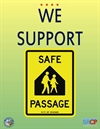 Local Businesses Show Signs of Supporting Safe Passage Program
