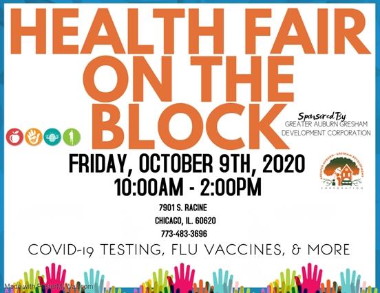 Health Fair on the Block