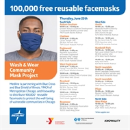Reusable Cloth MASK Distribution June 25th!