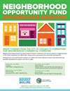 Neighborhood Opportunity Fund (NOF) Final Info Session Series Schedule
