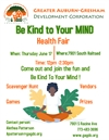 HEALTH FAIR: Be Kind To Your Mind