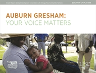 Auburn Gresham Quality of Life Plan 2017 Download A Copy Here!
