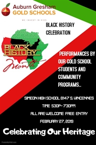 AGGOLD Community Black History Celebration