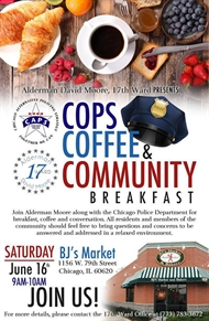 Coffe with a Cop Breakfast