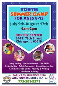 CWEG Summer Camp Taking Registrations