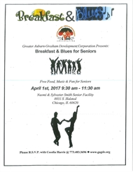 Breakfast and Blues for Seniors -- SAVE THE DATE!
