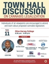 Town Hall Discussion on Cannabis Legalization