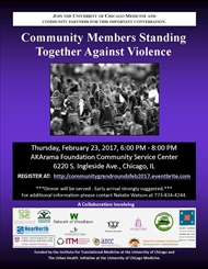 Community Members Standing Together Against Violence!