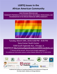 LBGTQ Issues in the African American Community