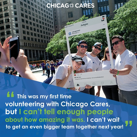 25th Annual Chicago Cares Serve-a-thon is Saturday, June 23rd