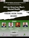 Virtual Community Grand Rounds about African American Men's Mental Health