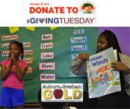 Join GAGDC On #GivingTuesday Help Families Go For The GOLD!