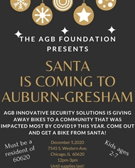 Auburn-Gresham Holiday Bike Giveaway