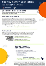 IL Snap Education FREE Upcoming Mini Webinars