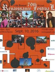 11th Annual 79th Street Renaissance Festival 9.10.16