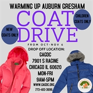 Warming Up Chicago Coat Drive (Thank you for the Donations!)