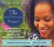 The Well-Woman Project Wants to Hear Your Story before June 30th!