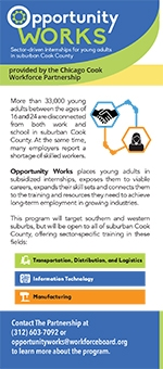 Urban League Opportunity Works Youth Job Training!