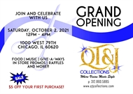 New Business: QT&J Collections Grand Opening!