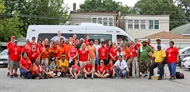 Red Cross Installs 400 Hundred Smoke Alarms in One Day in Chicago's Auburn Gresham Community