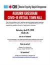Auburn Gresham COVID-19 Community VIRTUAL TOWN HALL 4/25th, 10:30am!