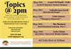 Topics @2pm: Rapid Resource Information Line -  May Week #3 Lineup!