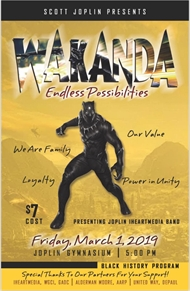 Scott Joplin Elementary Presents 'WAKANDA Endless Possibilities' Music Concert