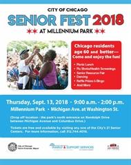 City of Chicago Senior Fest 2018 at Millennium Park