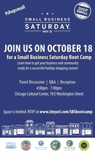 Join Us For Small Business Boot Camp!