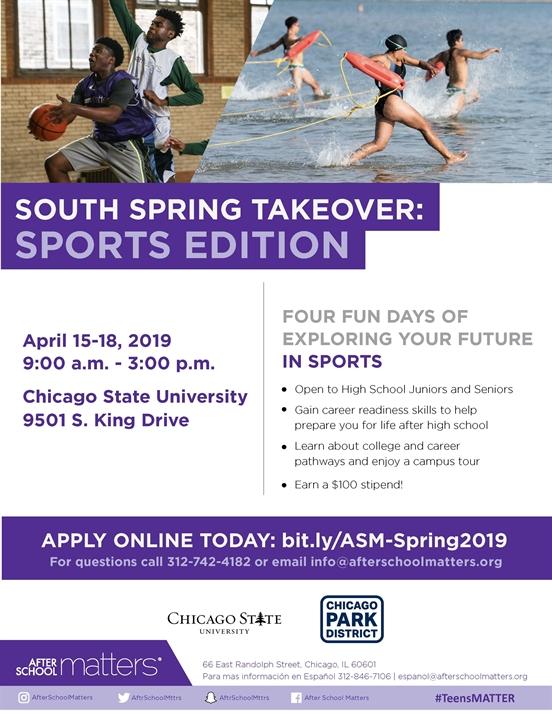 Spring Break Opportunity- HS Juniors and Seniors
