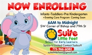 Suite Little Feet Now Enrolling