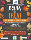 Free TRUNK or TREAT with the Ark of St. Sabina on Halloween!!
