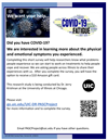 Did you have COVID-19? UIC isinterested in learning more - Take the Survey