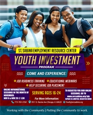 St. Sabina Employment Resource Center: Youth Investment Program