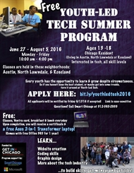 Youth-Led Tech 2016 Student Application Is Now Open!