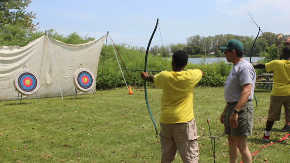 Archery 101- Forest Preserves of Cook County — Auburn Gresham Portal